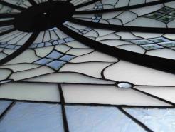 üvegtető alulról