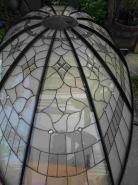 felülről tiffany kupola