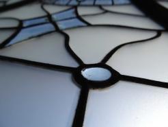 egy részlet az ólomüvegből