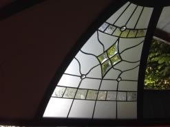 üveg kupola részlet